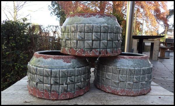 3 potten